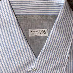 Brunello Cucinelli Button Up